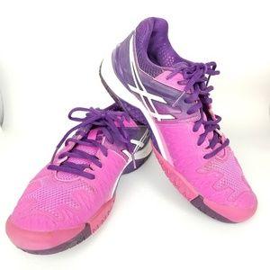 Asics | gel resolution | running | pink & purple